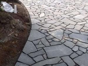 offerta pavimento cortile in pietra luserna colore blu grigio palladiana prima scelta pietrarredo