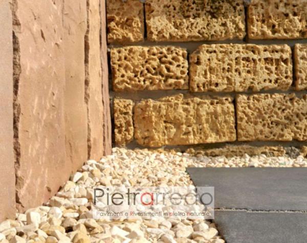 ciottolo pebbles giallo mori beige marroncino arredo giardino decorazioni aiuole prezzo costo zandobbio pietrarredo milano