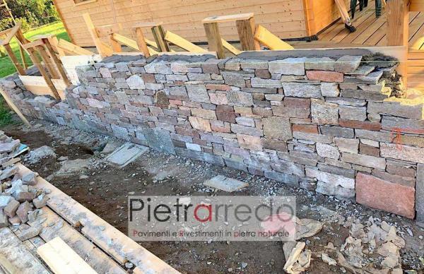 come fare un barbeque in sasso pietra pietrarredo milano prezzo muro masselli a secco