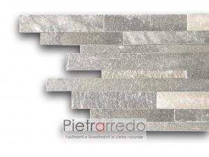 costo e offerta listelli in pietra vera singoli misure 30 cm e 60 cm multilistelli sasso prezzo pietrarredo singol strips stone