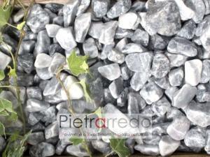 ice blue ciottolo decorative per aiuole e giardini stone garden zen granulato zandobbio prezzo pietrarredo mialno grigio chiaro elegante