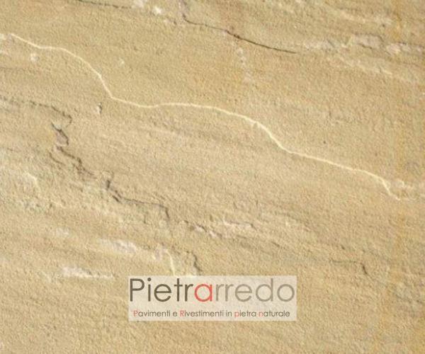 lastre piastrelle lati tranciato piano cava naturale mint indiana pietrarredo milano prezzo costo giardino zen selciato