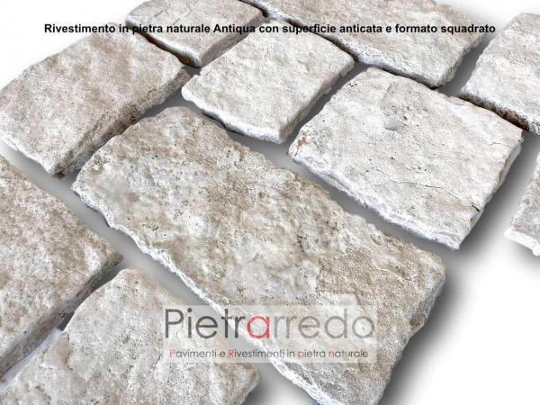 offerta chianca anticata per rivestimento muri e facciate in offerta pietrarredo milano bianca chiara camino