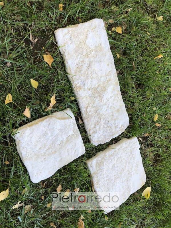 offerta prezzo pietrarredo milano chianca di trani antiqua per muri e pareti prezzo