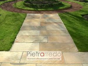 pavimento in pietra naturale arenaria mint sandstone pietrarredo prezzo milano price india