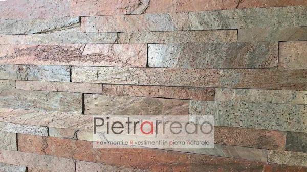 placche-decorative-in-pietra-vera-copper-stone-cladding-strips-copper-metallizzato-prezzo-metro-quadro-offerta-pietrarredo-milano