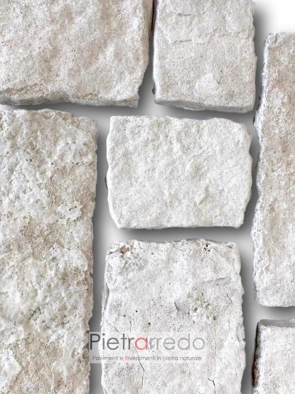 placche decorative in pietra vera trani puglia anticata e spazzolata squadrata offerta e prezzo pietrarredo milano