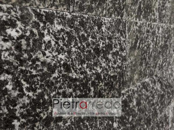 placche decorative per muri e facciate in serizzo zoccolo prezzo costo pietrarredo milano