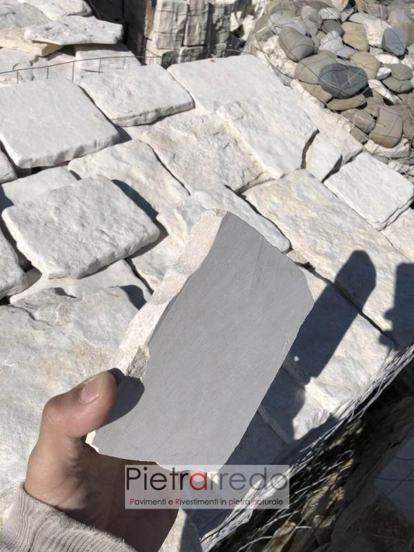 placche squadrate in pietra antiqua naturale squadrata segata pietrarredo milano offerta al metro quadro