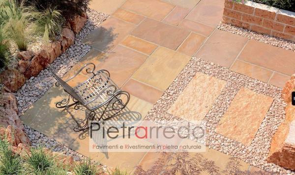 stone garden pebbles prezzo ciottolo rosso verona rosa pietraredo prezzo costi aiuole giardino zandobbio offerta