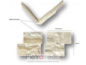 offerte e prezzi per angoli in pietra da rivestimento facciata pilatri archi pietrarredo milano prezzo
