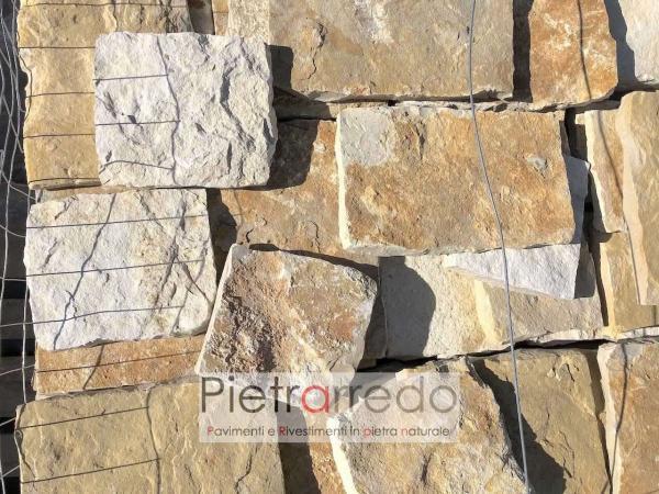 piastrelle mattonelle in pietra naturale squadrata antiqua placca decorativa pietrarredo ilano prezzo per muri e facciate rivestimento