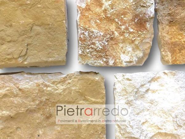 placche decorative in pietra naturale per muri e facciate colore marrone beige antiqua pietrarredo prezzo costi