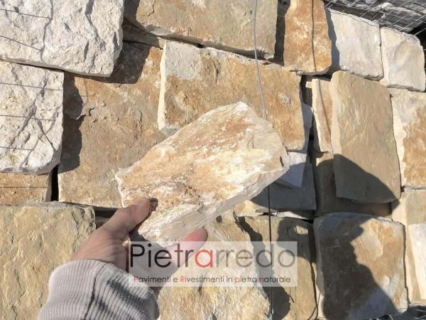 prezzo rivestimento in pietra naturale antiqua pietrarredo milano prezzo scorza per muri e facciate muretti