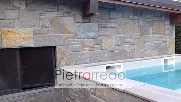 prezzo rivestimento in pietra naturale scozzese bugnato pietrarredo milano pareti e facciate offerta