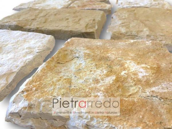 rivestimento placche decorative in pietra per muri mureti facciate prezzo antiqua scquadrato segato pietrarredo milano