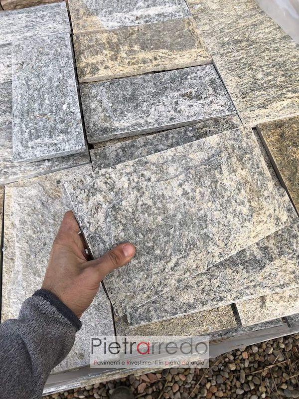 rivestimento in pietra luserna lati segati scozzese bugnato prezzo costi pietrarredo milano parabiago
