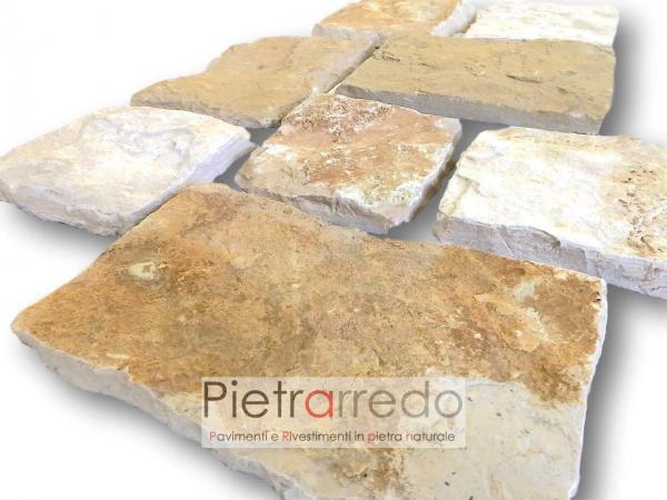 rivestimento in pietra naturale antiqua placche decorative in scorza trani prezzo petrarredo milano