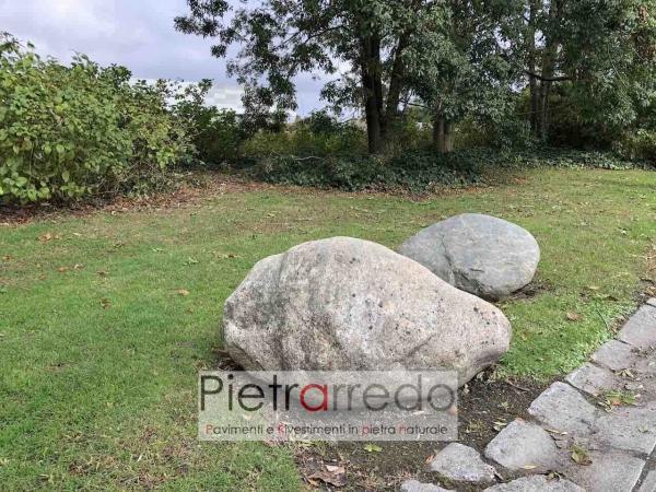 ciottolone gigante pietraredo milano prezzo sassi decorativi stone garden costo offerta