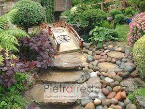 giardino zen roccioso giapponese ciottolo fiume ticino alluvionale sasso prezzo pietrarredo milano