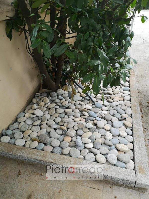 natural pebbles river grigio misto ticino pietrarredo cost price