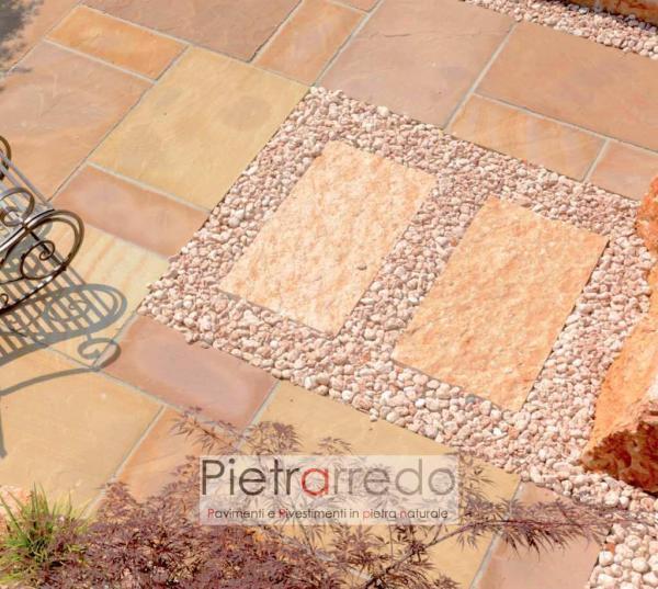 offerta e prezzi pietrarredo ciottolo rosso verona stona garden offerta prezzo pietrarredo rosa