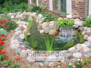 prezzo ciottoli di fiume ticino grigio misto rosa pietrarredo arredo giardino roccioso prezzo