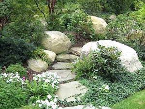 prezzo giardino roccioso con sassi grandi di fiume stone garden zen pietrarredo offerta milano