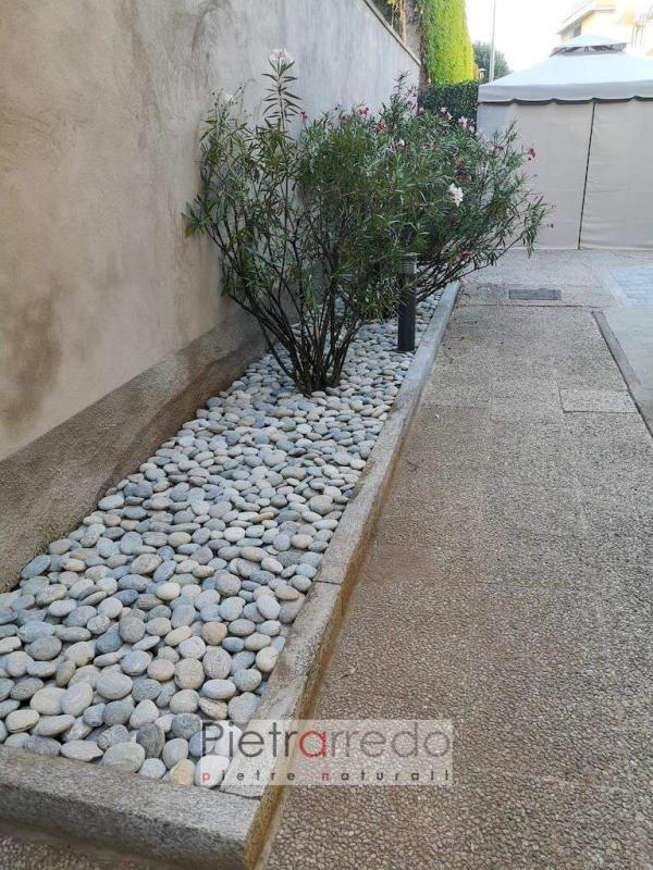 sassi ciottolo piattina di fiume per giardini offerte pietrarredo