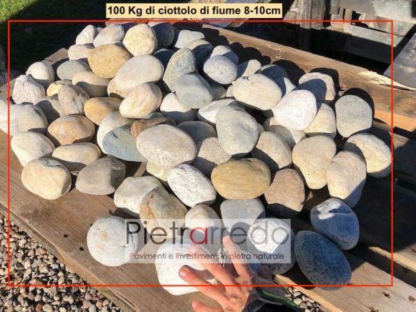 sassi in vendita ciottolo di fiume offerta ticino per argini laghetti ruscelli giapponese parabiago pietrarredo