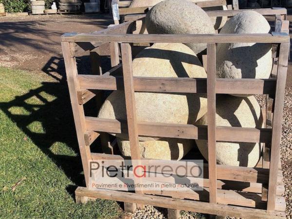vendita ciottoli giganti grandi di fiume ticino pietrarredo price stone pebbles big