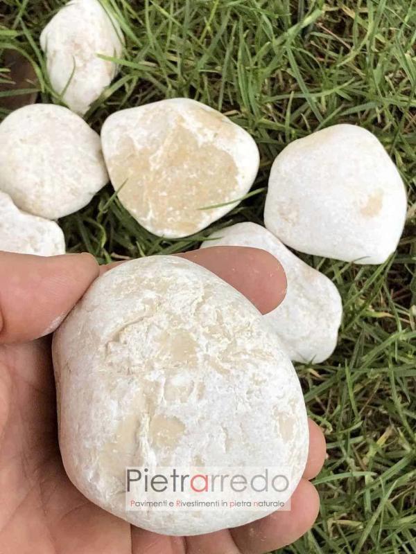 stone garden ciottolo giallo mori arredo giardino stone pebbles garden zen giapponese vendita pietrarredo costo 40 60 mm