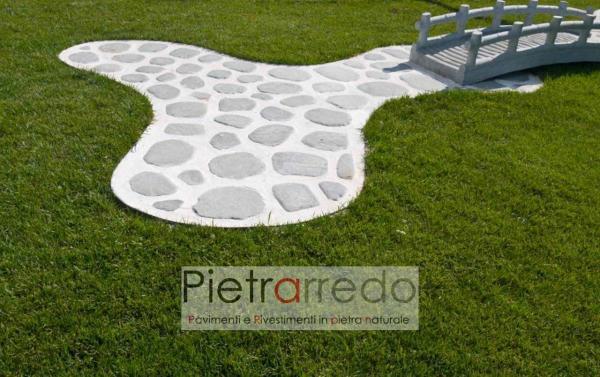 bellissime decorazioni in giardino con bordure in pvc e plastica per granulato sassolini divisori pietrarredo prezzo