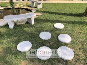 camminamenti sassi per giardini aiuole prato steps garden price price pietrarredo