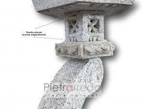offerta per giardini zen giapponesi lanterna ran kei prezzo pietrarredo milano garden stone