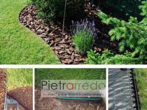 prezzo bordi e bordure divisori tra prato e sassi arredo giardino in pvc plastica belli pietrarredo giardini giapponesi