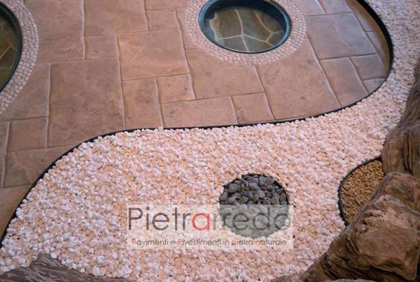 vendita bordi in pvc e plastica per arredo giardino divisori sassolini pietrarredo prezzo ston agrden offerta bordure