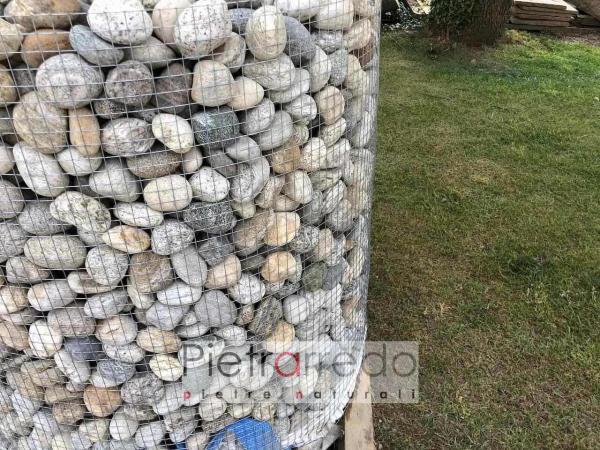 ciottolo 4-6 cm offerta pietrarredo milano costo rizzada risada lombardo cascina pietrarredo