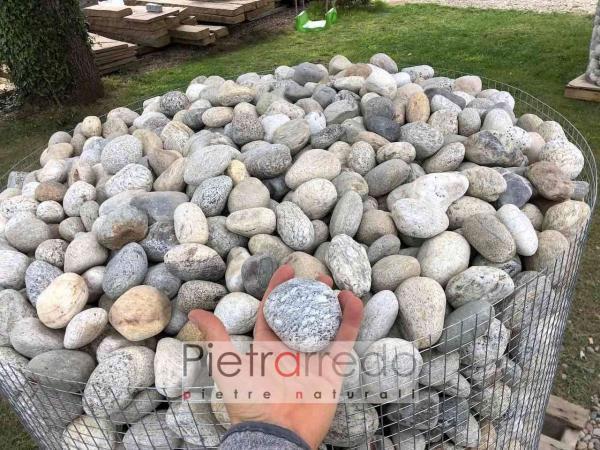 offerta e prezzo ciottolo ticino arredo giardino rizzada risada pavimento lombardo classico pietrarredo milano