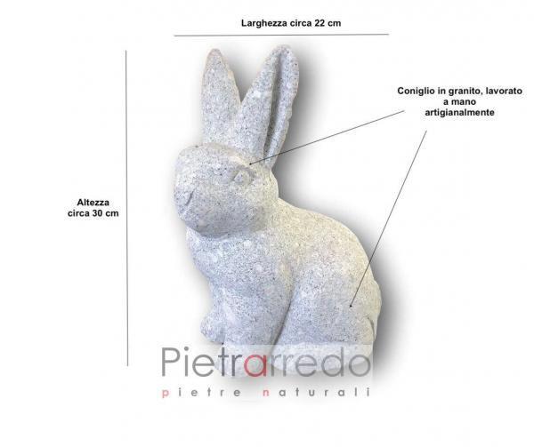 offerta pietrarredo milano stone animal coniglio rabbit offerta