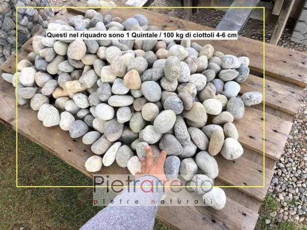 sassi ciottoli per pavimento lombardo piemonte cascina pietrarredo milano offerta