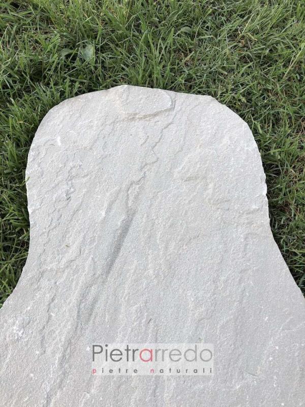 lastre e mattonelle in pietra arenaria grigia pietrarredo prezzi offerte stona garden