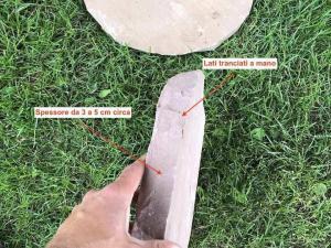 offerta cerchi in pietra naturale per camminamento prato rotondi modak india prezzi pietrarredo