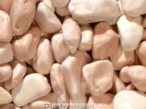 offerta e prezzo ciottolo sassolino rosa corallo pietrarredo milano prezzi aiuole decorazione giardini