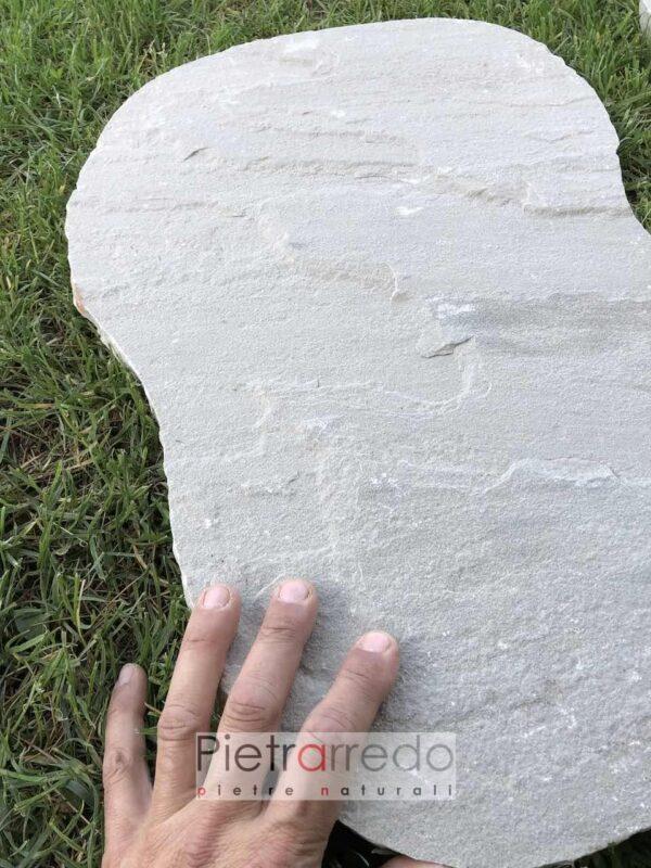 passi giapponesi in arenaria grigia steps kandla grey india prezzi pietrarredo