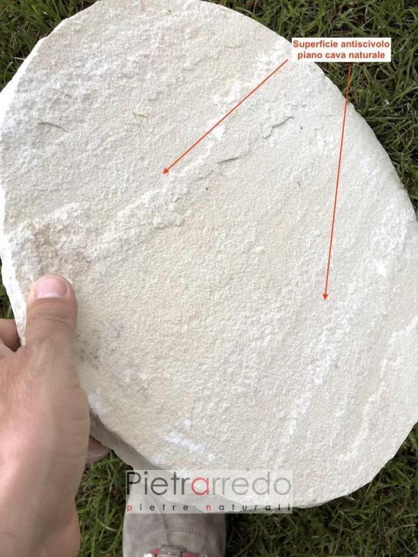 passi in pietra naturale ovali latre da gioardino prato gialla mint pietrarredo prezzo