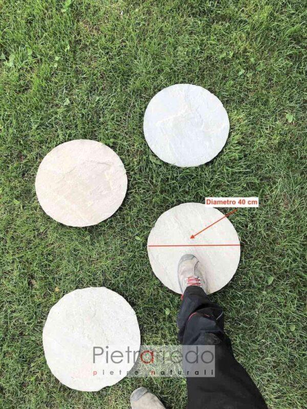 steps oval prive kandla grey arenaria indiana offerta stone garden pietrarredo