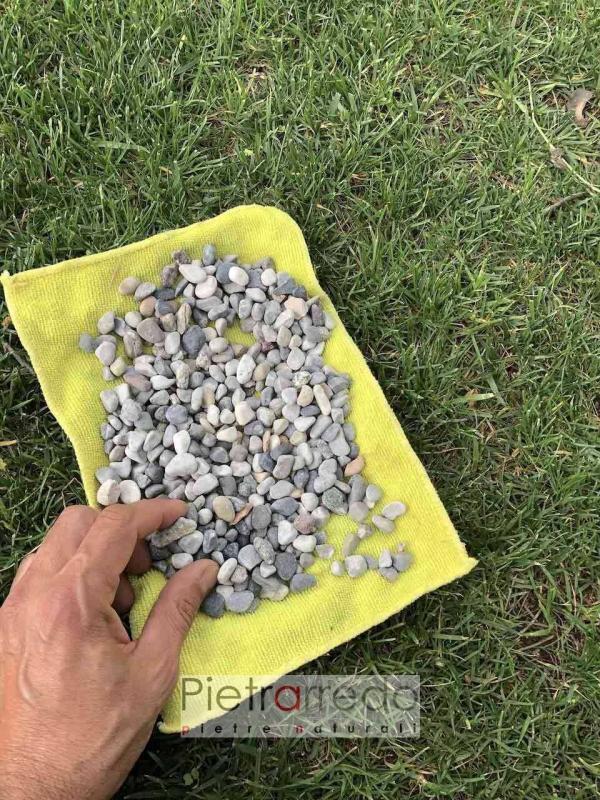 vendita sassolini piccolo per gairdini aiuole arredo urbano offerta prezzo pietrarredo ghiaia ghiaietto costo