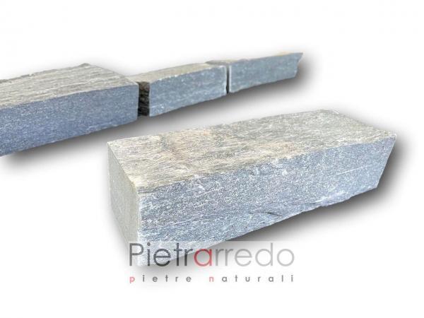 blocchetti mattoncini per aiuole bordure prato prezzo serpentino pietrarredo italy stone garden