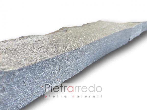 mattoncini in sasso pietra per aiuole pietrarredo milano costo stone garden